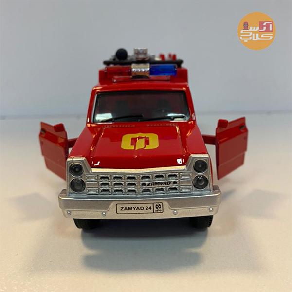 ماکت ماشین نیسان آتش نشانی