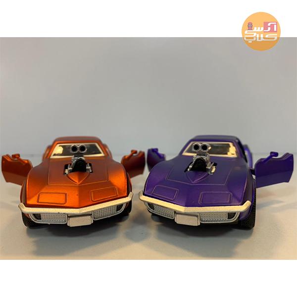 ماکت ماشین شورولت کوروت با سوپرشارژ